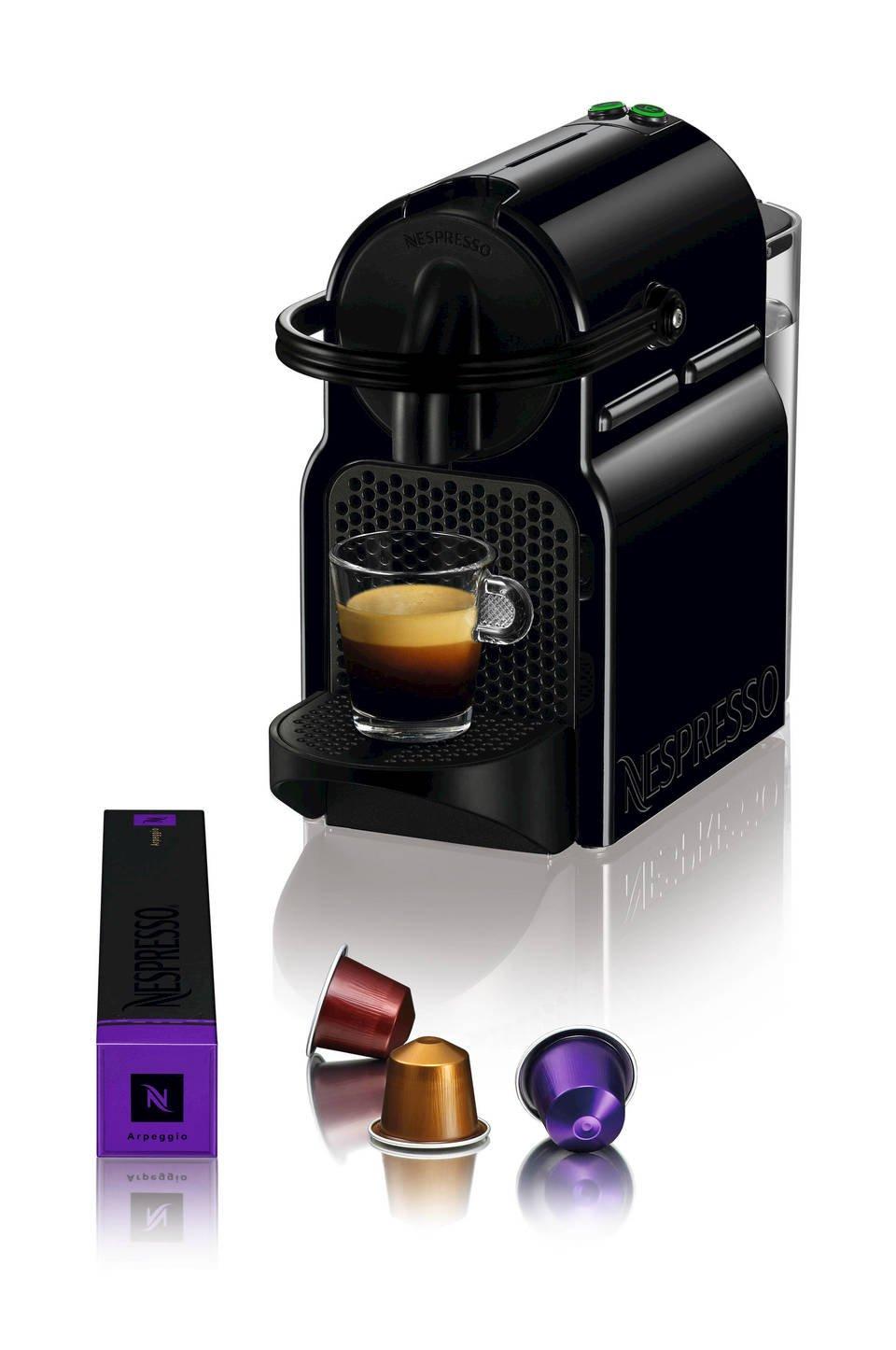 Nespresso Inissia Espresso Maker with Aeroccino Plus Milk Frother, Black (Discontinued Model) by Nespresso (Image #2)