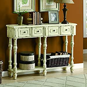 Monarch veneer traditional console table 48 for 48 inch sofa table