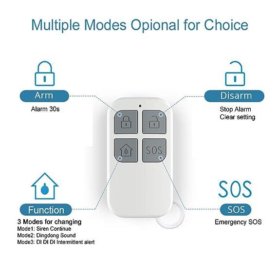 Amazon.com: Door Window Pool Alarm,130dB Wireless Magnetic ...