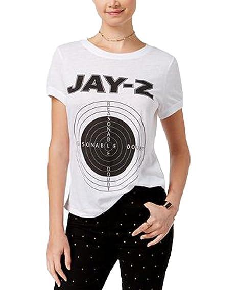 7e100b30c Amazon.com: Merch Traffic Juniors' Jay-Z Graphic T-Shirt: Clothing