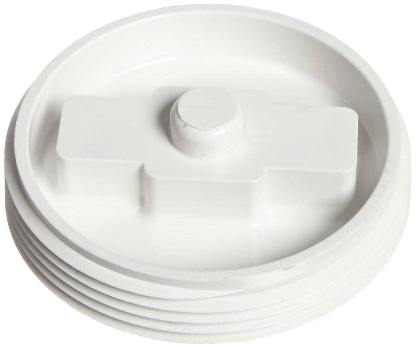 1-1//2 NPT Male Flush Plug Spears P110 Series PVC DWV Pipe Fitting