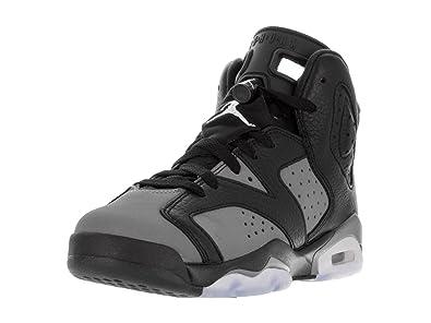 b52ff03764bd70 Nike Boys  Black   White-Cool Grey Sports Shoes - Basketball Black Size