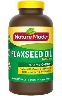 Amazon.com: Aceite de linaza NatureWise, 1200 mg con 720 mg ...