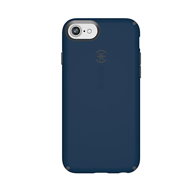 reputable site 1369f f081a Speck Products CandyShell Cell Phone Case for iPhone 8/7/6S/6 - Deep Sea  Blue/Slate Grey