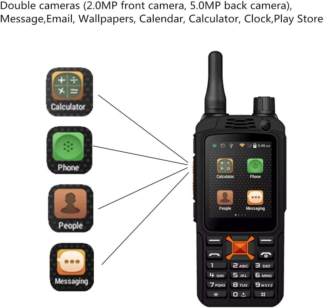 Zhanyiyi Antena walkie-Talkie 3G Wi-Fi Pantalla táctil de walkie ...