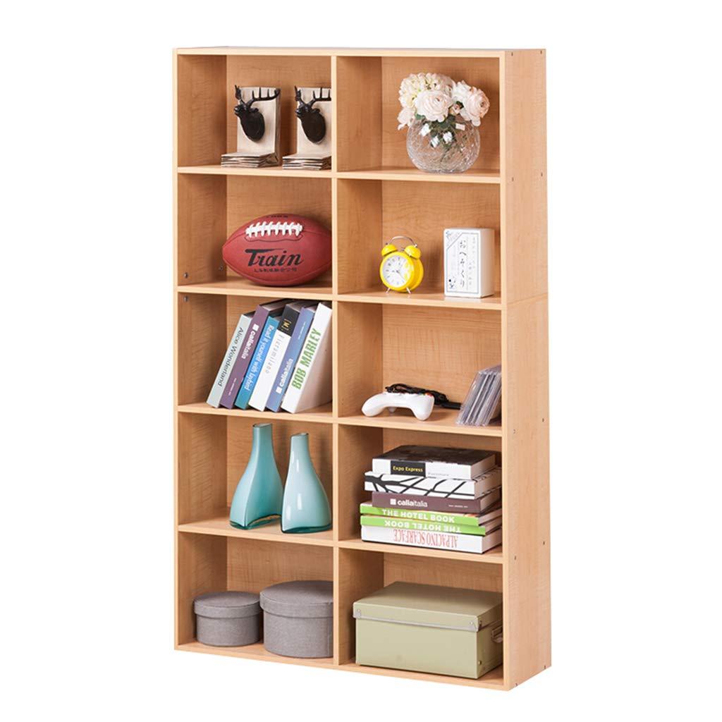 Bücherregal Portable Storage Regal Cube Regale Cubby Organisieren Schrank Kinder Spielzeug Veranstalter Kabinett, Massivholz Dekor Display Möbel