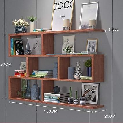Libreria A Muro In Legno.Mensole Duo Muro Parete Sospesa Armadio A Muro Partizione In