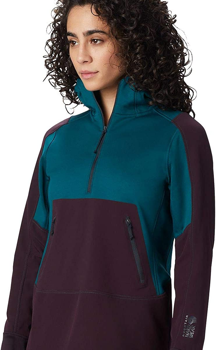 Mountain Hardwear Frostzone Hybrid 1//2-Zip Hoodie Womens