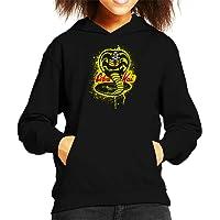 Cloud City 7 Strike First Cobra Kai Snake Logo Kid's Hooded Sweatshirt