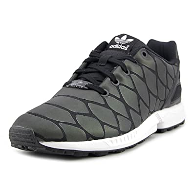 Adidas Little Kids ZX Flux Xenopeltis (black / core black) Size 11 US