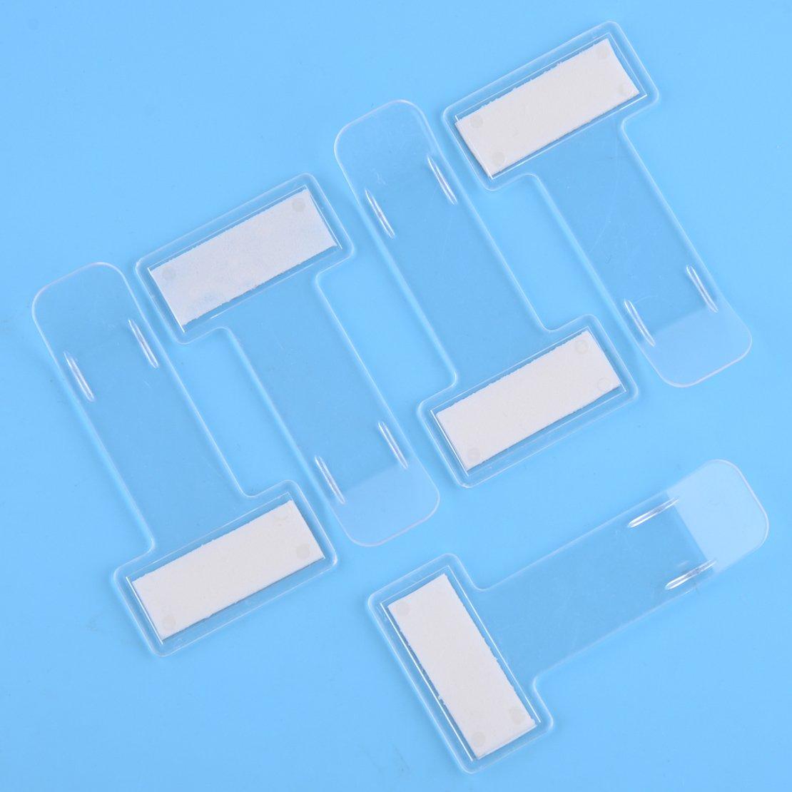 CITALL Clip en plastique transparent portatif de support de permis de stationnement de pare-brise de voiture sitao