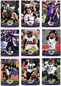 Baltimore Ravens 2013 Topps Complete Regular Issue 14 Card Team Set with Super Bowl Champions, Joe Flacco, Ray Rice Plus