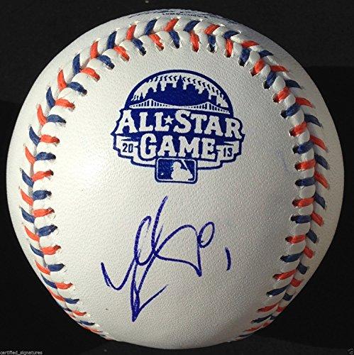 (JEAN SEGURA SIGNED 2013 ALL STAR GAME OMLB BASEBALL MILWAUKEE BREWERS COA J1)