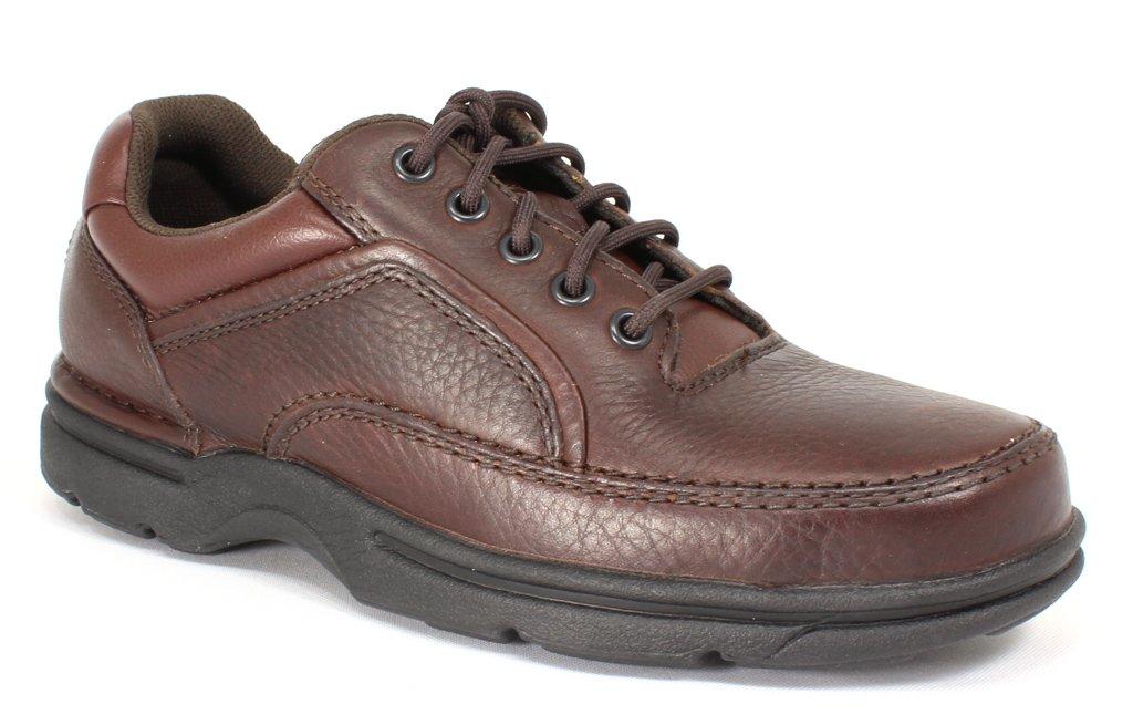 Rockport Men's Eureka Walking Shoe, Brown, 8 D(M) US