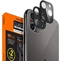 Spigen iPhone 11 Pro Max / 11 Pro Kamera Lens Cam Ekran Koruyucu Full Cover (2 Adet) Black+Midnight