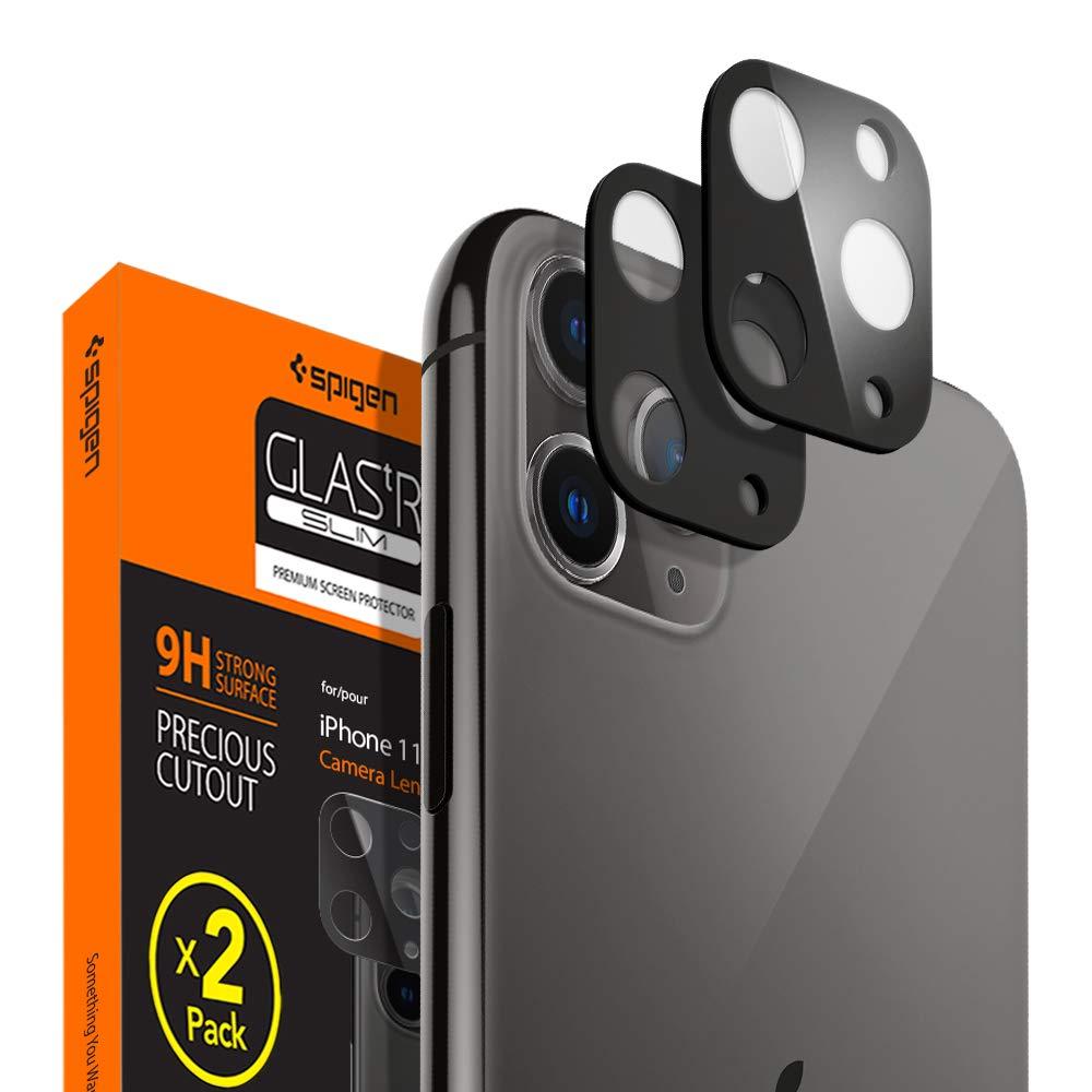 Protector De Lente Para iPhone 11 pro Spigen, Negro