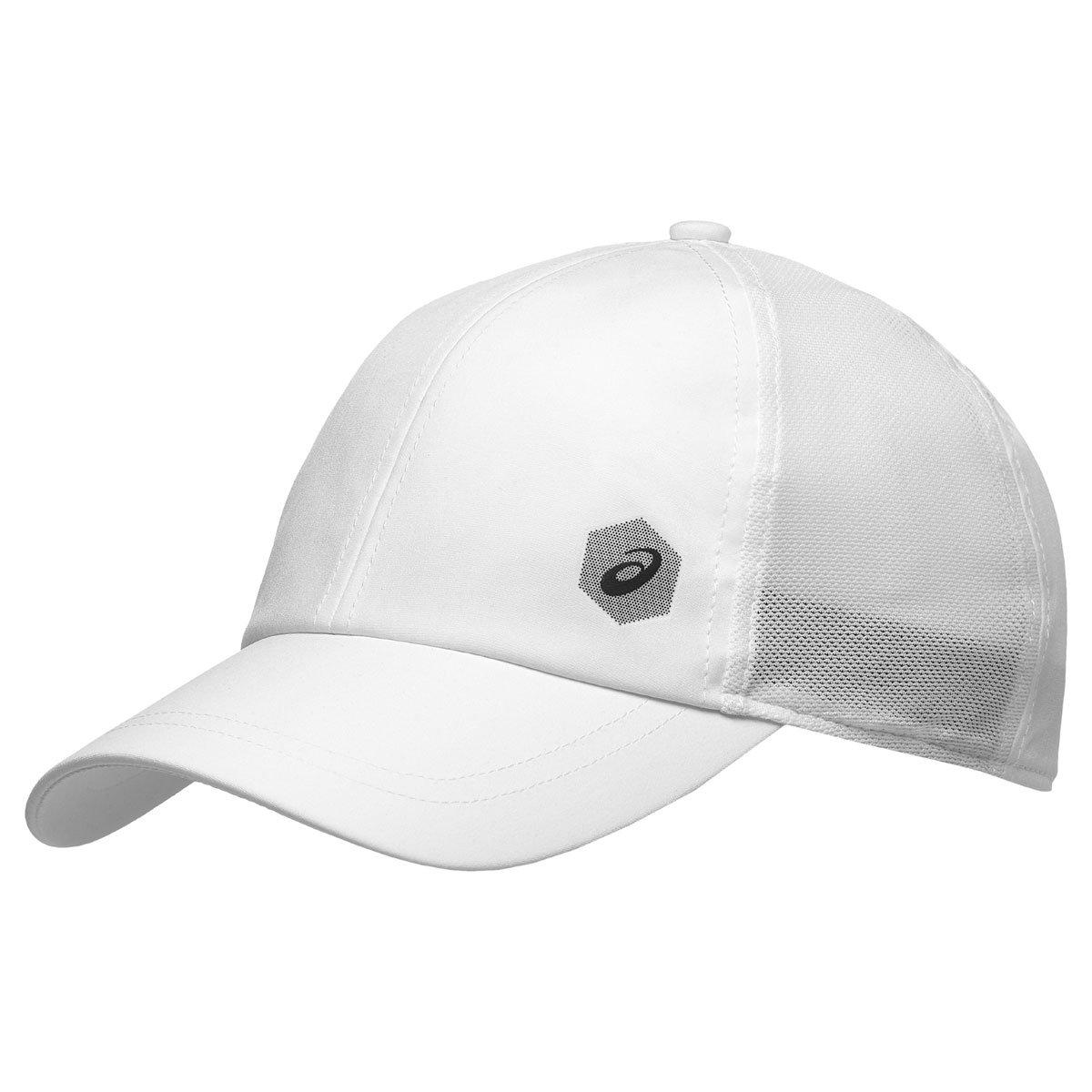 Asics Essential Gorra, Unisex, Brilliant White, Talla Única