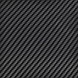InstallBay AVBKCF-5 Black Color Carbon Fiber Fabrication Wrap - 5 Linear Yards