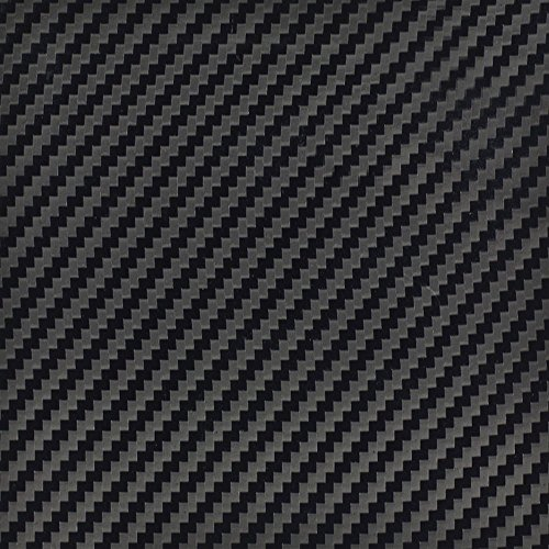 InstallBay AVBKCF-5 Black Color Carbon Fiber Fabrication Wrap - 5 Linear Yards