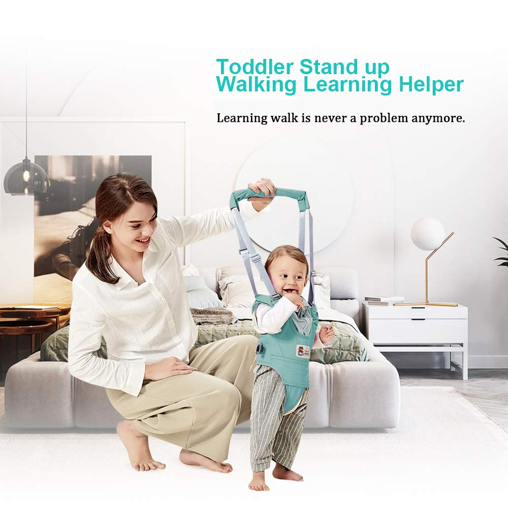 Grau Baby Gehhilfe Lauflernhilfe f/ür Stehen Gehen Lernen Helfer Walker f/ür Kinder 8-24 Monthe