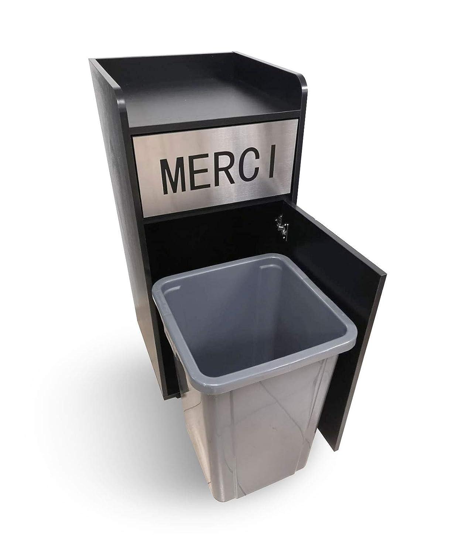 Cubo de basura Merci, 130 litros: Amazon.es: Industria, empresas y ciencia