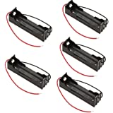 WINOMO 5Pcs DIY Battery Storage Case Box Holder for 18650 Lithium Batteries
