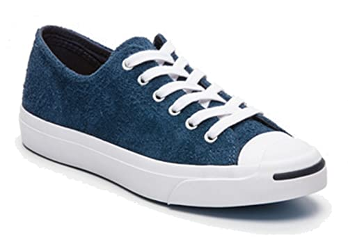 Converse Men s Blue Jack Purcell Jack Ox Suede Trainers  Amazon.co ... 60595253d