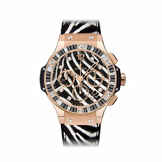 Hublot Big Bang 41 mm Jeweled/Broderie automatic-self-wind - Reloj (Certificado) de segunda mano: Hublot: Amazon.es: Relojes