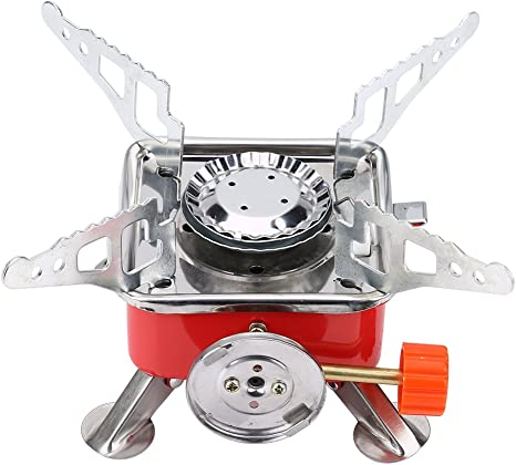 Portable Folding Gas Stove Burner Outdoor Lightweight Metal Windproof Gas Burner Camping Stove Camp Stoves Amazon Canada