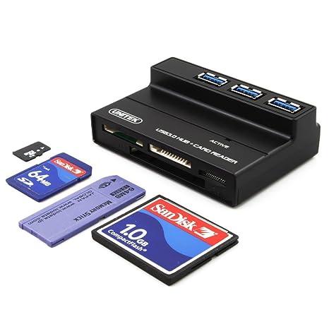 Amazon.com: Unitek Concentrador USB 3.0con ranura de ...
