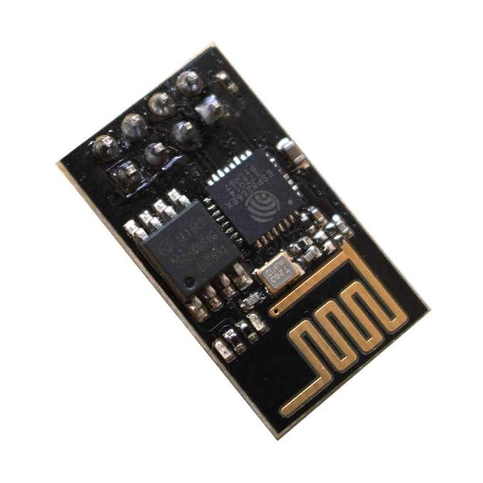 InisIE ESP8266 ESP-01 módulo transceptor Serie de WiFi Recibir ...