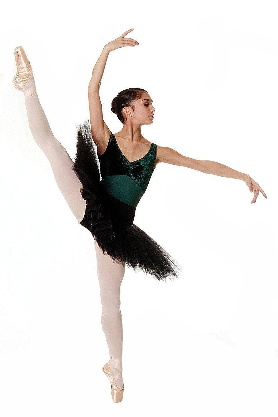 1 Paio Silky Collant da Danza Convertibili