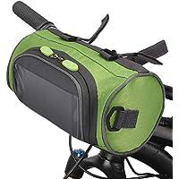 Lixada Fietsstuurtas met touchscreen, waterdicht, voorpakket voor fiets met grote inhoud