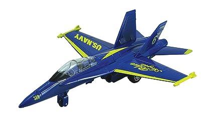 Amazon.com: F-18 Hornet Blue Angel - 9 Inch: Toys & Games