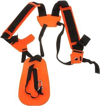 PIXNOR arnés para ambos hombros para usar con la desbrozadora de ...