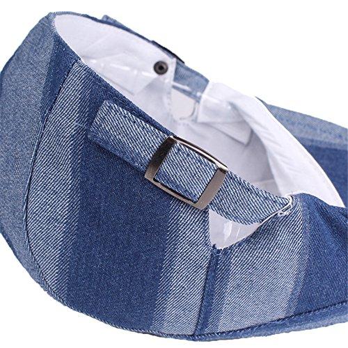 Berretto Coppola per la Primavera Estate Autunno Uomo Jeans Regolabile  Strisce Berretto Irlandese-Blu  Amazon.it  Abbigliamento 23a483d35cb5