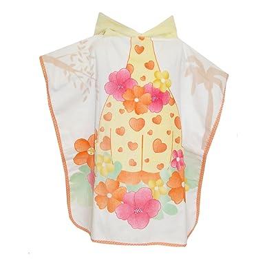 90c029467332 mayoral - Baby towel with hood giraffe