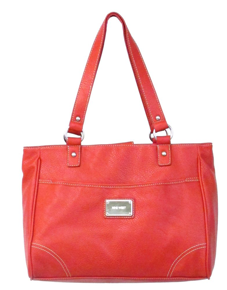 Nine West Saddle Tote (Red)