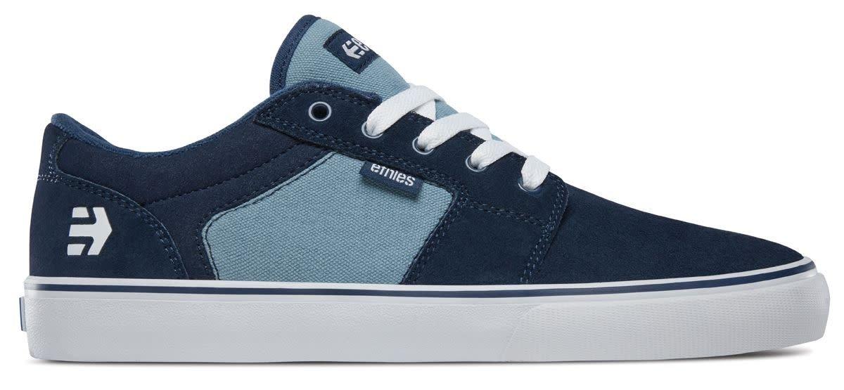 Etnies Barge LS Skate Shoe 10.5 D(M) US|Navy/Blue/White