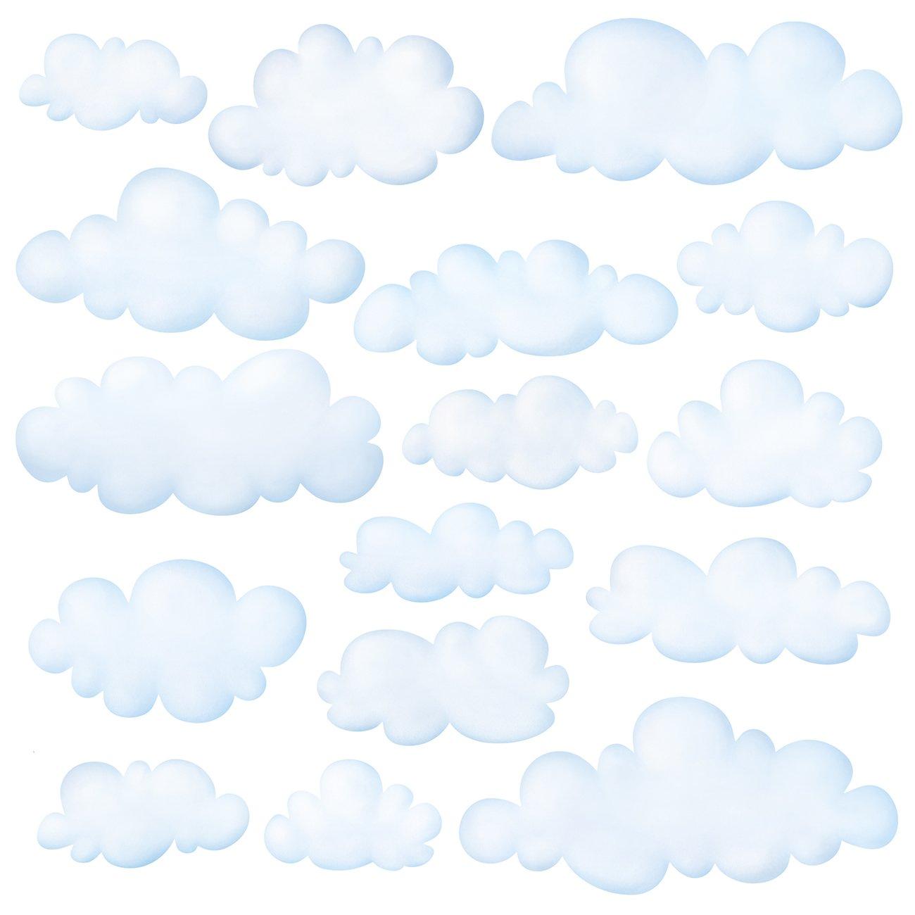 Vinilo Decorativo Pared [74NYPXT5] nubes