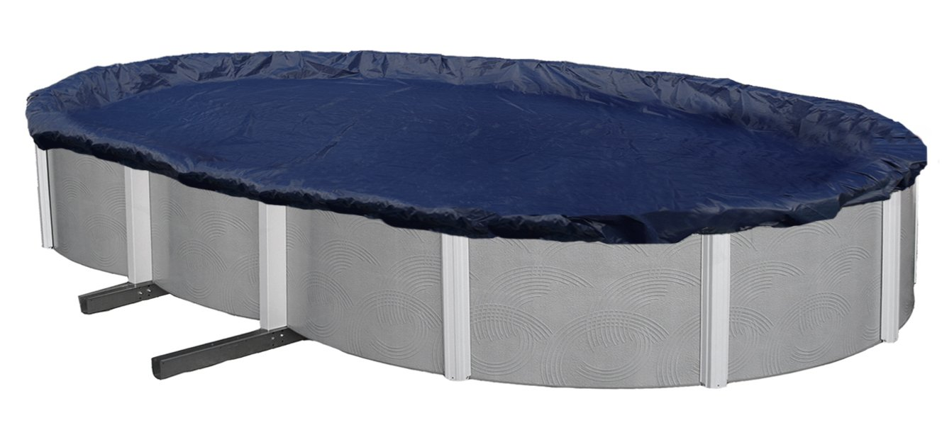 Blue Wave Bronze 8-Year 15-ft x 30-ft Oval Above Ground Pool Winter Cover by Blue Wave