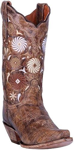 Dan Post Women Paisley Embroidered Western Boot Snip Toe DP4023