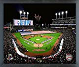"Progressive Field Cleveland Indians 2016 World Series Stadium Photo (Size: 12"" x 15"") Framed"