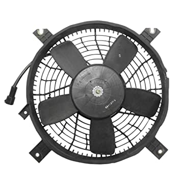 C Condenser Cooling Fan With Round Plug Assembly Replacement