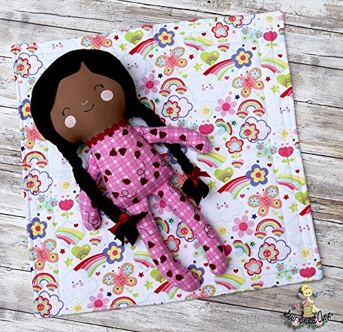 """18"""" Soft Pajama Baby Doll African American"""