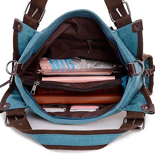 Ybriefbag Unisex Canvas Travel Bag, Shoulder Bag, Travel Bag, Leisure Canvas, Mummy Bag. Vacation by Ybriefbag (Image #2)