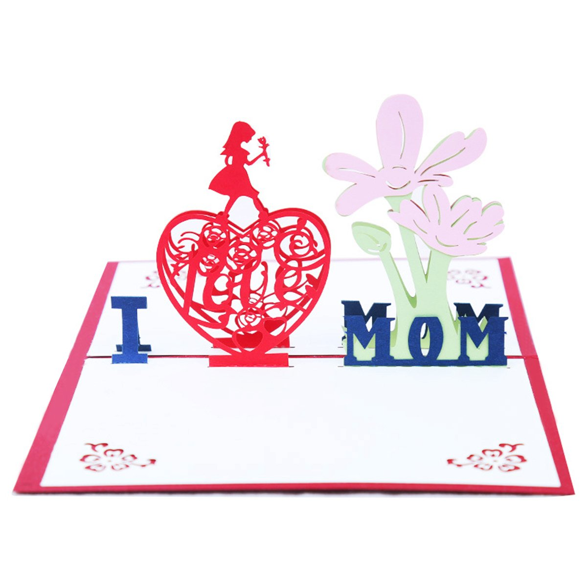 3D Popup Mother Greeting Card \