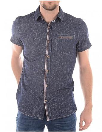 Kaporal Jeans - Kaporal Shirt Fime Blue Night - S, Blue: Amazon.es ...