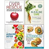 img - for Medical Medium Liver Rescue [Hardcover], Alkaline Cure [Hardcover], Alkaline Detox Reset Cleanse, Medical Autoimmune 4 Books Collection Set book / textbook / text book