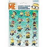 Despicable Me Minions Sticker Sheets, 4ct
